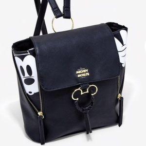 Black & White Mickey Mini Backpack NWT